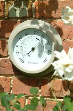 Indoor/ outdoor thermometer, £23.00