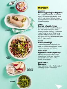 It'S all bout fitness healthy eating recipes, healthy eating budget, clean recipes, lunch Healthy Work Snacks, Healthy Eating Recipes, Healthy Meal Prep, Clean Eating Recipes, Diet Recipes, Diet Meals, 1500 Calorie Meal Plan, Calorie Diet, Vegetarian