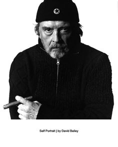 David Bailey, iconic fashion & portrait photographer of the 1960s [and after]