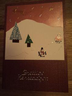kerst kaart