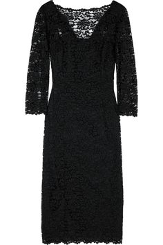 "D & G Lace Dress: £256.90  #Dress #D_G #Lace_Dress I would like this to be my ""little black dress"" ~!~"