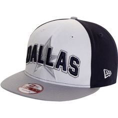 Men's New Era Dallas Cowboys Draft 9FIFTY? Snapback Structured Adjustable Hat Adjustable by New Era. $27.95. You'll be rockin' a hip look when you sport the New Era? Draft 9FIFTY? structured snapback hat. This adjustable cap features a color-blocked crown and a contrast-colored visor, top button, and plastic snap closure. The NFL? team location and logo are embroidered on the front, while the team name is displayed on the back.