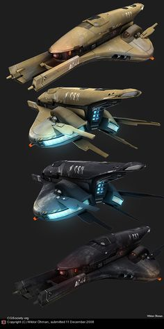 Future Human Spaceship by Wiktor Öhman | 3D | CGSociety