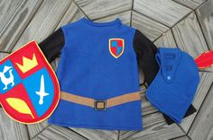 Mike The Knight Inspired Costume  Super Hero by TheTreeHouseKid, $145.00