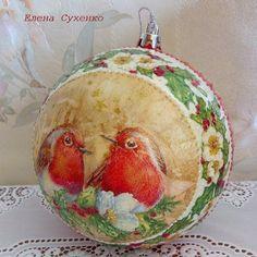 Новогоднее, мой декупаж и роспись. Обсуждение на LiveInternet - Российский Сервис Онлайн-Дневников