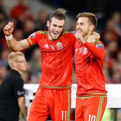 Wales finished their memorable Euro 2016 campaign on a winning note as Aaron Ramsey and Gareth Bale crowned a Cardiff party with second-half goals.