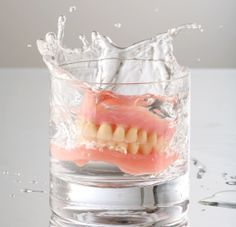 Most patients choose dentures because they'd rather pay a few hundred dollars to have their teeth replaced than a few thousand. While dental implants are initially the more expensive option, dentures - in the long run - end up costing far more!  http://prestigedentalcenters.com/prestige-dental-services/dentalimplants/all-on-4-new-teeth-one-day