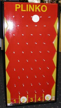 How to make a homemade plinko game with a peg board and pegs for use plinko board directions plinko game rental solutioingenieria Choice Image