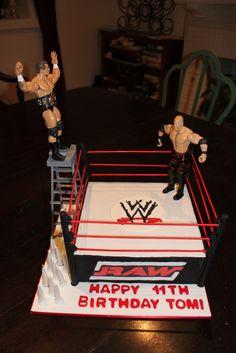 WWE Cake by Jill Gilchrist