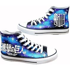 CosDaddy/Attack on Titan Shingeki No Kyojin Cosplay Shoes/ Canvas Shoes Luminous