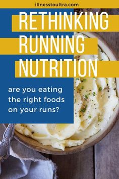 Find out out why having potato puree is a great race day food so you stay energized and eat enough nutrition to keep your body going through long distance races. No matter what type of potato: White potato, sweet potato, yams, or any type of potato = the starch and nutrition benefits are excellent for your body during running races. #running #nutrition #potato #runnersdiet #meal Best Food For Runners, Runners Food, Nutrition For Runners, Nutrition Plans, Running Tips, Beginner Running, Trail Running, Whole Food Diet, Whole Food Recipes