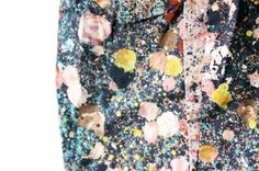 Close-up of Cacharel skirt