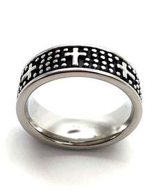 Dotted Cross Ring