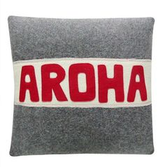 Buy quality handmade wool cushions - Vintage cushion covers in a variety of retro styles, perfect for the kiwi batch, home or as a gift - Free Delivery NZ Wide. Vintage Cushions, Striped Cushions, Maori Art, Kiwiana, Sewing Pillows, Recycled Fabric, Vintage Fabrics, Vintage Love, Wool Blanket