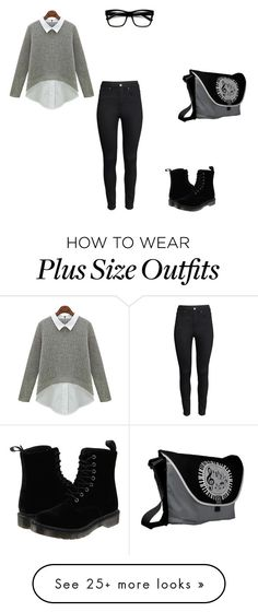 """""""Going to work"""" by nikky10 on Polyvore featuring H&M, Dr. Martens and Retrò"""