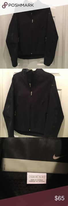 Black Nike Zippup Size XL . Nike Jackets & Coats