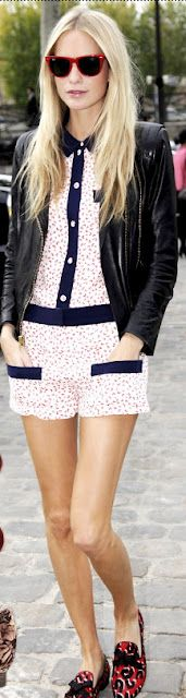 collared romper for spring