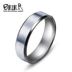 Bishilin Stainless Steel Female//Male Symbol Puzzle Couple Promise Wedding Rings Price for 1pc