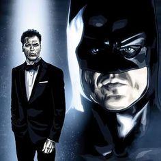 Michael Keaton Batman, Tim Burton Art, Movie Poster Art, Batman Art, Dark Knight, Gotham, Dc Comics, Joker, Cosplay