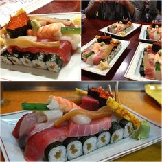 Incredible Sushi Tanks | I Love Food So Much
