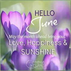May the month ahead bring you..LoVe,Happiness & sunshine.