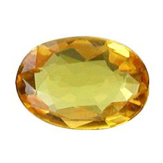 0.60 ct Oval Sapphire Golden Yellow -Gold Crane & Co.