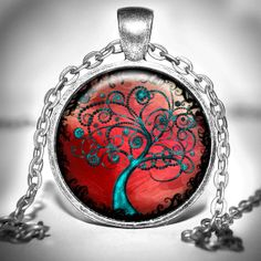 Tree of life Pendant  tree of life necklace  tree of by Jaylos, $8.00