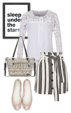 """bag"" by masayuki4499 ❤ liked on Polyvore featuring Americanflat, Sakroots and Topshop"