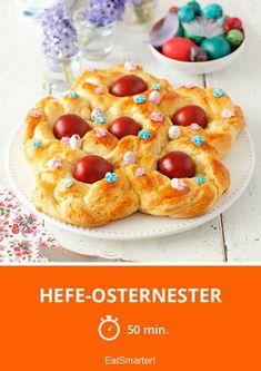 Hefe-Osternester - smarter - Zeit: 50 Min. | eatsmarter.de