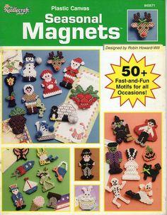 Plastic Canvas Seasonal Magnets FC  1/18
