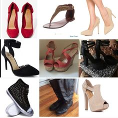 BOGO FREE on all my shoes!  I need to make space in my closet for new shoes. Many of those pictured are new or as new! Shoes
