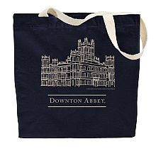 Show your love for Downton Abbey with this official tote bag. These durable canvas tote bags are perfect for trips to the market or the library. A must-have for any Downton Abbey fan.