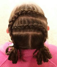hairstyles for heart shaped face : Hair+Styles+for+Gymnastics+Meets ... Hairstyle, Gymnastic Hairstyles ...