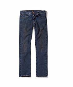Reef Lee Jeans Selvedge Denim Raw HD Rigid 30 X 34 Slim Straight NWT $220