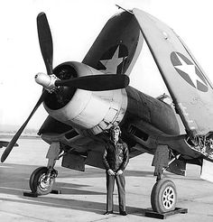 One of the first Marine F4U Corsairs