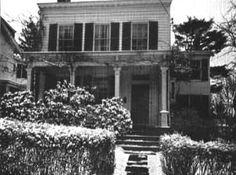 "Photo of Einstein's home in Princeton from the ""Einstein in Princeton"" web site that has a summary of his time in our town."