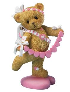 Cherished Teddies Valentine's You Pull My Heart Strings $16.76