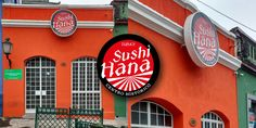 Sushi House Brand design