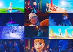 Frozen footage before the movie!