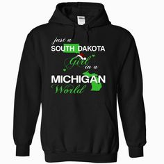 (SDNoelXanhChuoi002) Just A #South Dakota Girl In A Michigan World, Order HERE ==> https://www.sunfrog.com/Valentines/-28SDNoelXanhChuoi002-29-Just-A-South-Dakota-Girl-In-A-Michigan-World-Black-Hoodie.html?6789, Please tag & share with your friends who would love it , #christmasgifts #renegadelife #jeepsafari  #south dakota hiking, south dakota camping, mount rushmore south dakota  #posters #kids #parenting #men #outdoors #photography #products #quotes