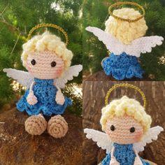 Crochet Christmas Wreath, Crochet Christmas Decorations, Christmas Crochet Patterns, Holiday Crochet, Christmas Knitting, Doll Amigurumi Free Pattern, Crochet Applique Patterns Free, Crochet Flower Patterns, Scrap Crochet