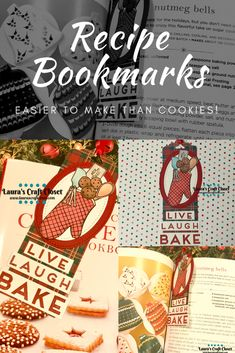 This Recipe Bookmark for Baking not only keeps a page for your christmas cookies, but is also pretty! A perfect reminder that baking should be fun! Holiday Baking, Holiday Fun, Create A Recipe, Cookie Swap, Digital Stamps, Winter Holidays, Some Fun, Christmas Cookies, New Recipes