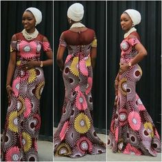 Hello ladies...  There are lovely styles over the past weekend that you really have to see them ..... these lovely styles include long Ankara gown combine with beautiful materials to compliment the styles, Ankara skirt and blouse,   #Ankara styles #aso-ebi #FASHION