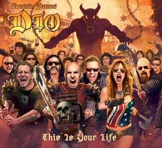 Rock Comentado: Review - Ronnie James Dio - This Is Your Life