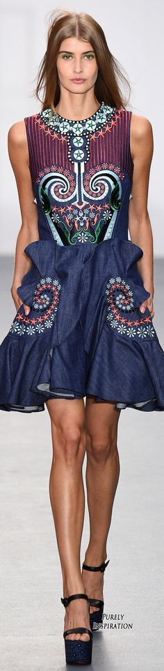 Holly Fulton SS2016 Women's Fashion RTW   Purely Inspiration women fashion outfit clothing style apparel @roressclothes closet ideas
