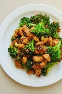 Pollo con brócoli y salsa de soja - Vegetarisches Essen - Real Food Recipes, Diet Recipes, Chicken Recipes, Cooking Recipes, Healthy Recipes, Healthy Meal Prep, Healthy Snacks, Healthy Eating, Healthy Drinks