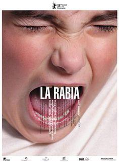 Poster for La rabia Poster Design, Graphic Design Layouts, Graphic Design Posters, Graphic Design Typography, Graphic Design Inspiration, Layout Design, Brochure Design, Graphisches Design, Book Design