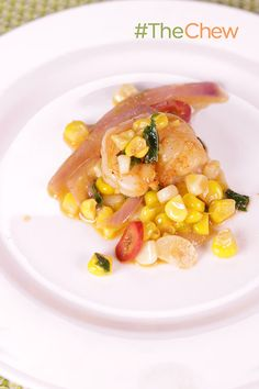 A tasty Summer Corn & Shrimp Sauté is the perfect dish for your next BBQ this summer!