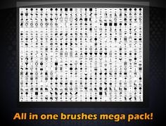 All you need brushes mega pack[Lite] by Viweu.deviantart.com on @DeviantArt
