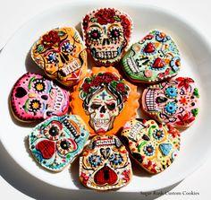 Dia de low muertos cookies